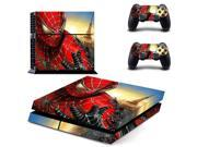 Super Hero: Spider-Man Decal PS4 Skin Sticker for Sony Play Station 4 Console & 2 Controller Skins 9SIAC5C5DW1727