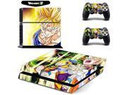 Dragon Ball Z Super Saiyan Son Goku Vinyl Cover Decal PS4 Skin Sticker for Sony PlayStation Console & 2 Controller Skins 9SIAC5C5DW2634