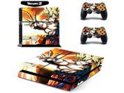 Dragon Ball Z Super Saiyan Son Goku Vinyl Cover Decal Skin Sticker for Sony PS4 PlayStation Console & 2 Controller Skins 9SIV10D5MZ0694