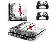 NBA Legend Jordan PS4 Skin Sticker Decal For Sony PS4 PlayStation 4 Console and 2 Controllers Stickers