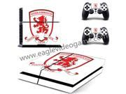 Middlesbrough football club sticker for ps4 console skin for ps4 controller decal