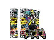 Bombing Vinyl Decal Skin Sticker for Microsoft Xbox 360 Slim and 2 Controller Skins Sticker Bomb for Xbox 360 9SIAC5C5GR2580