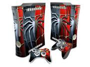 Spiderman Vinyl Skin Sticker Protector for Microsoft Xbox 360 Original fat skins Stickers for xbox360 9SIAC5C5GR3078