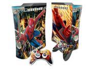 Spiderman Vinyl Skin Sticker Protector for Microsoft Xbox 360 fat skins Stickers for xbox360 Fat-056 9SIV10D5MZ2542