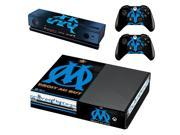 Olympique de Marseille #2 For XBOX ONE vinyls Console Game Sticker Cover Vinyl Decals and Controllers Skins for Xbox One Sticker