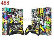 Vinyl Decal Skin Sticker for Xbox 360 E and 2 controller skins sticker bomb for xbox 360 E