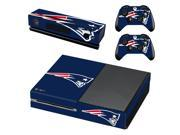 England Patriots Decal Skin For Microsoft XBOX ONE Skin Stickers + 2PCS Controller Skin Console Stickers For Xbox One 9SIAC5C5GR3049