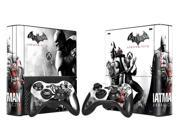 Batman Vinyl Decal Skin Sticker for Microsoft Xbox 360 E slim and 2 controller skins for xbox 360 SLIM E-0006 9SIAC5C5GR2911