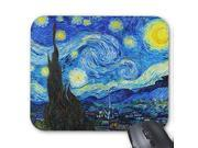 Maliyna Cool Starry Night Vincent Van Gogh painting Mouse Pad 10