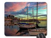 San Diego's Waterfront at Sunset Mouse Pad, Mousepad  10
