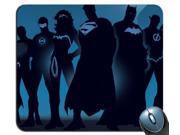 Superhero Blue Funk Justice League Batman Superman Mouse Pad 10
