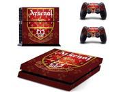 arsenal PS4 PlayStation 4 skin decal for console and controllers