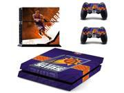 Phoenix Suns PS4 PlayStation 4 skin decal for console and 2 controllers