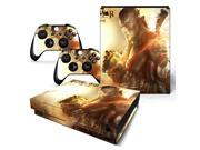 For XBOX One X Console Vinyl Decal Protective Skin Sticker #0538