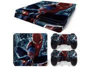 Spiderman designs skin sticker for sony PS4 SLIM console 9SIAC5C70U9841