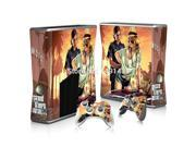 OSTSTICKER Skin Stickers For Microsoft Xbox 360 Slim Console + 2 pcs Stickers For Xbox 360 Controller 9SIAC5C7167699
