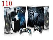 OSTSTICKER Spider-Man Sticker For Microsoft XBOX 360 Slim Console & 2 Controller Covers 9SIAC5C7170486