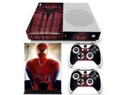 Classic Spiderman Skin Stickers for XBOX One Slim Console and 2pcs Controllers Skin Decal 9SIAC5C7171510