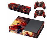 Vinyl Skin Decal Cover for Microsoft Xbox One Console & Kinect & 2 controller skins - Spider-Man 9SIAC5C7167354