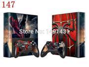 OSTSTICKER Spiderman Design Vinyl Protector Skin Sticker For Xbox 360 E Console and Controller Skin Decals 9SIAC5C7167374
