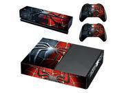 Spiderman Skin Sticker For Microsoft Xbox One Console Protector Film And Cover Decals Of 2 Controller 9SIAC5C7168145