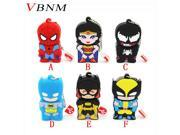 VBNM Super hero spider man pendrive cartoon spiderman pen drive 1GB usb flash drive memory stick 9SIAC5C71A1438