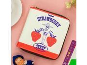 Fruit Strawberry Banana Girl Man Shopping Short Wallets Pattern Printed Lady Popular Milk Funny Sleeping Purses Small size Burse (9SIAC5C8G04540 181117wallet1755 GENERIC) photo