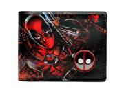 Deadpool wallet animated cartoon fashion brand purse Young boys and girls purse personality Man purse DFT-1108 (9SIAC5C8G07894 181117wallet1951 GENERIC) photo