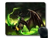 "World of Warcraft Illidan Stormrage Games 005 Rectangle Mouse Pad 8"""" x 9"""""" 9SIAC855218511"