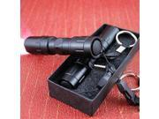 Black Mini CREE LED Flashlight Torch Handy Light Lamp Keychain Waterproof Key Chains 9SIAAWS5C55370