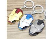 1PCS Marvel Super Hero The Avengers Iron Man Mask Metal Keychain Pendant Key Chain chaveiro llaveros KT109 9SIAAWS5C54908