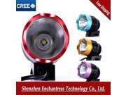 5 Colors 2 Funtions in 1 Bike Bicycle Front Light Lamp & HeadLight HeadLamp  XML XM-L T6 LED Rechargeable Battery