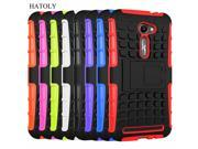For Asus ZenFone 2 ZE500Cl Case 5 inch Heavy Duty Armor Shockproof Hard PC Rubber Silicone Phone Case Cover for Asus Zenfone 2E 9SIAC855GX0513