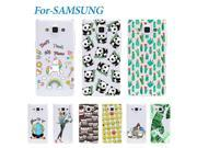 Lovely Pattern Case For Samsung Galaxy S3 S4 S5 Mini A3 A5 2016 Soft Silicone Back Cover Phone Cases 9SIAC855GW8561