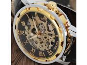 Luxury Brand MR. ORKINA Hand-wind Skeleton Mechanical Men Watches Steampunk Women Wristwatch With Leather Strap relojes 9SIAC855PV1605
