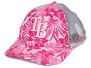 Tampa Bay Rays MLB New Era 9Forty Flower Power Youth Snapback Hat 9SIAC8Z6VC7305