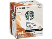 Starbucks Caramel Caffe Latte Keurig K-Cups 9SIAC8Z58H0151