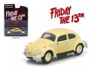 "1963 Volkswagen Beetle """"Friday The 13th Part III"""" (1982) Movie Hollywood Series 9 1/64 Diecast Model Car by Greenlight"" 9SIAC9B50P7392"