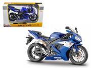 2004 Yamaha YZF-R1 Blue Bike 1/12 Motorcycle by Maisto 9SIAC9B50P8693