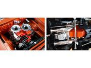 Hemi Bullet Hemi 426 Engine with Headers and Transmission Replica 1 18 by Acme