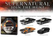 "Hollywood Film Reels Series 2 """"Supernatural"""" 4 Cars Pack (2005 Current TV Series) 1/64 Diecast Car Models by Greenlight"" 9SIAC9B54T5628"