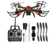 DAS X4 Venom Large RC Quadcopter Drone with HD Camera, GoPro Mount, Altitude Hold, Headless Mode, One-Key Return, 2.4GHz 4 CH 6 Axis Gyro