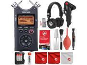 Tascam DR-40 4-Track Handheld Digital Audio Recorder with Deluxe Accessory Bundle and Cleaning Kit 9SIACAY7KC2400