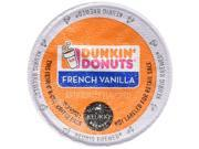 Dunkin Donuts French Vanilla Flavored Coffee K-Cups For Keurig K Cup Brewers (32 Count)