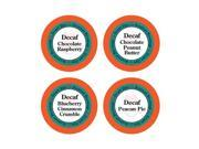 Decaf Coffee Variety Sampler Pack, for Keurig K-cup Machines, 24 Count, Decaf Chocolate Peanut Butter, Decaf Blueberry C 9SIACB65PZ5198