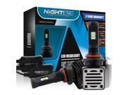 NIGHTEYE 9005 / HB3 Car LED Headlight Bulbs- 80W 12000LM 6500K Cool White