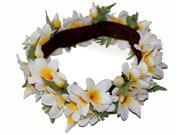The Yellow Plumeria Hawaii Headband