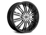 2Crave No.1 18x7.5 Blank +40et G. Black w/ MF Wheels Rims