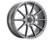 Big Bang Sport BSP31 17x7.0 Blank +38et Glossy Gray Wheels Rims