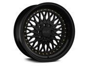 XXR 536 18x9 5x100,5x114.3 18et Black Wheels Rims